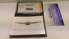 Chrysler Concord Betriebsanleitung Bedienungsanleitung in Englisch 81-026-0025