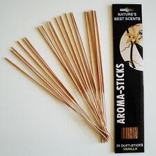 Incensi VANIGLIA/Aroma Sticks Nature 's Best Scents