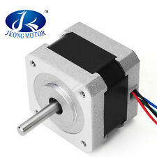 JKM Nema 17 0.9 Degree 42mm Two Phase Hybrid Stepper Motor 1.33A 34mm For CNC