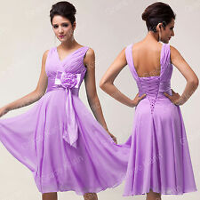 Xmas Party Princess Homecoming Formal Bridemaid Wedding Cocktail Gown Prom Dress