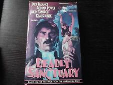 DEADLY SANCTUARY Big Box VHS aka Marquis de Sade's Justine (I Think!)