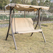 Canopy Swing Garden Playing Children Couple Seat Outdoor Living Furniture