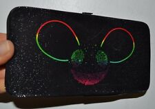 "Deadmau5 Bifold Wallet Clutch Purse 7"" by 4"" Rainbow Hinged Clasp Licensed"