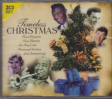 TIMELESS CHRISTMAS - VARIOUS ARTISTS on 3 CD'S -  NEW -