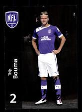 Thijs Bouma Autogrammkarte VFL Osnabrück 2012-13 Original Signiert+A 146680