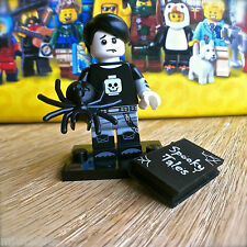 LEGO 71013 Minifigures SERIES 16 SPOOKY BOY #5 SEALED Emo Vampire Book Spider