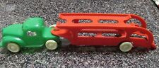 vintage 1940's &50;s plastic toy car carrier