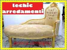 dormosa oro foglia PANCHETTA CAMERA DA LETTO-divanetto classico in inserti