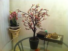 New Spring Flowers With Pot Artificial Flowers Plants Decoration byASHLAND 22 in