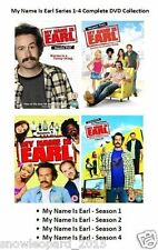 MY NAME IS EARL COMPLETE SERIES 1 2 3 4 DVD Collection Set All Episodes New Box