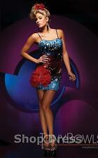 Tony Bowls tbs11158 Red/Multi Size 2 ---Military Ball-Prom-Home Coming