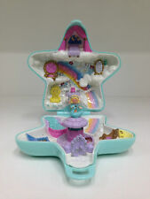 POLLY POCKET Vintage 1992 Fairy Wishing World *COMPLETE w/ RARE BLUE SWAN*