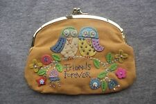 """Natural Life Coin Purse """"Friends Forever"""""""