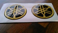 YAMAHA TANK BADGE GOLD