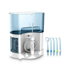 Dental Oral Care Water Jet Irrigator Flosser Tooth Pick Cleaner + 4 Nozzles