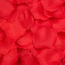 100/1000Pcs Simulation Rose Petals Wedding Party Table Confetti Decorations
