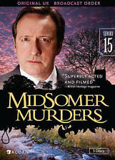 Midsomer Murders: Series 15 (DVD, 2015, 3-Disc Set)