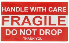 20 Handle With Care / Fragile / Do Not Drop Labels Stickers 2 x 3