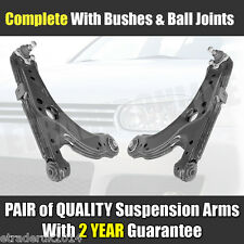 VW GOLF MK4 FRONT 2 LOWER SUSPENSION WISHBONES ARMS COMPLETE WITH BALL JOINT NEW