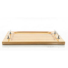"Chris Craft Serving Sushi Rectangular Tray 14.5"" Red Cedar Wood Nautical Decor"