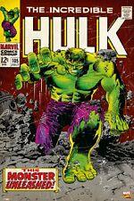 Marvel The Hulk Poster - Comic Cover Art size 24x36