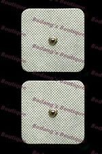 """(4) OMRON-COMPATIBLE Replacement Electrode/Electrotherapy Pads~5cm x 5cm(2""""x2"""")"""
