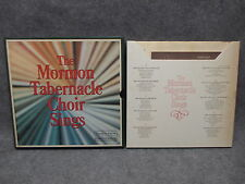 The Mormon Tabernacle Choir Sings (5) Record Box Set 33 LP RDA 093-A 1973