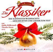 """CD """"Die Klassiker"""" Die schönsten Weihnachtsgeschichten und Lieder zum Fest OVP"""