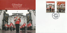 Gibraltar 2014 FDC Europa Musical Instruments 2v Set Cover Drum Band Corps Drums