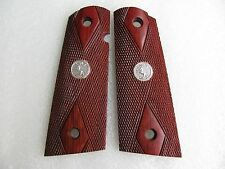New Hardwood Grip for Colt Government 1911 9 mm Full size Kimber Springfield
