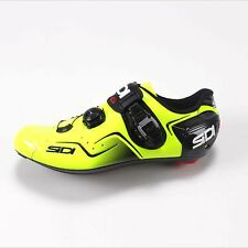 Sidi Kaos Men's Carbon Road Cycling Shoes Yellow Fluo 44