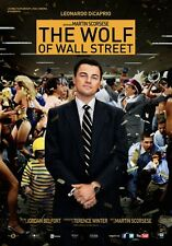 The Wolf Of Wall Street poster film  70x100
