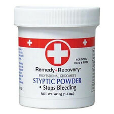 Remedy+Recovery 1.5 oz Styptic Powder Fast Quick Stop Dog Cat Bird Nail Bleeding
