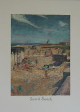 """Sword Beach"" Lithographie signée Jeffery STRIDE"