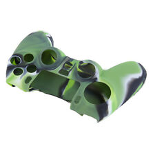 Camouflage Silicone Case Skin Grip Cover For Playstation 4 PS4 Controller UR