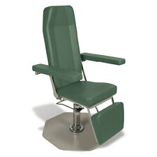 Reclining Phlebotomy Chair with CAL 133 Fire Code Vinyl Sage 1 ea