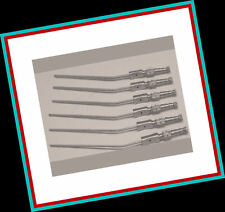 6 FRAZIER SUCTION TUBES SET 6,7,8,9,11,12 Fr Surgical ENT Instrument Non Magnet