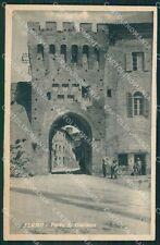Ascoli Piceno Fermo Porta San Giuliano cartolina QK6375