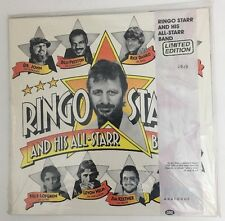 Ringo Starr And His All-Starr Band - SEALED 1990 LP On Clear Wax RALP 0190 #1929