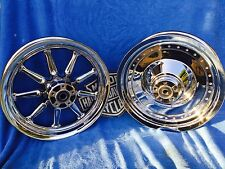 Harley Chrome 9 Spoke or Softail Fat Boy Heritage One  Wheel Only your choice