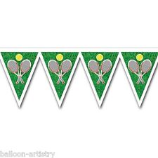 12ft Tennis Flag Party Pennant Banner Bunting Decoration Birthday Wimbledon