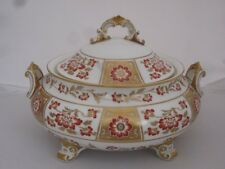 """Royal crown derby """"red derby panel"""" couvercle soupiere A1236"""