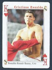 PLAYING CARD-FAR EAST ISSUE-CRISTIANO RONALDO-MANCHESTER UNITED-REF #KH