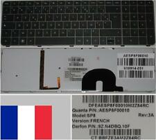 Clavier Azerty Fr HP ENVY 17 SP8 AESP8F00010 9Z.N4DBQ.10F 610914-051 Backlit