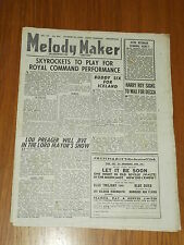 MELODY MAKER 1946 #692 OCT 26 JAZZ SWING SKYROCKETS LOU PREAGER HARRY ROY
