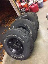 Toyota Landcruiser FJ80 OEM Wheels & Cooper Discoverer Tires