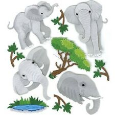 Jolee's ELEPHANTS Stickers ZOO