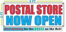 POSTAL STORE NOW OPEN Banner Sign NEW Larger Size Best Quality for the $$$