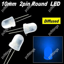 200P X 10mm blue Round Diffused LED 10mm blue Diffused LED 10mm 2pin blue led