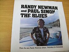 RANDY NEWMAN AND PAUL SIMON THE BLUES  7""
